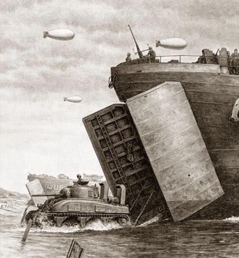 Harmon Jody. Высадка десанта в Нормандии.