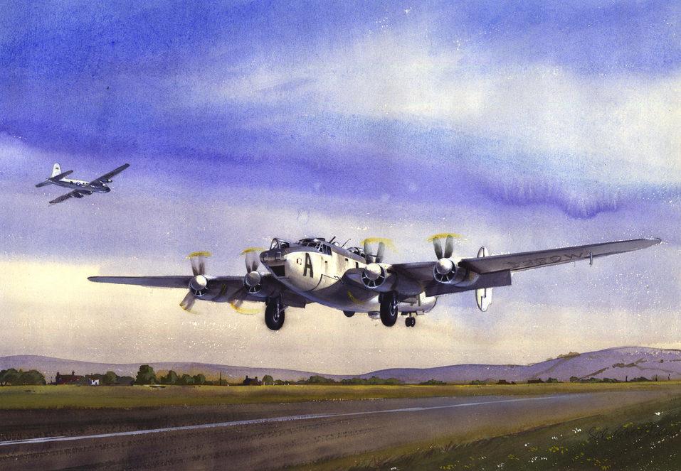 Robertshaw Bill. Патрульный самолет Avro Shackleton MR-2.