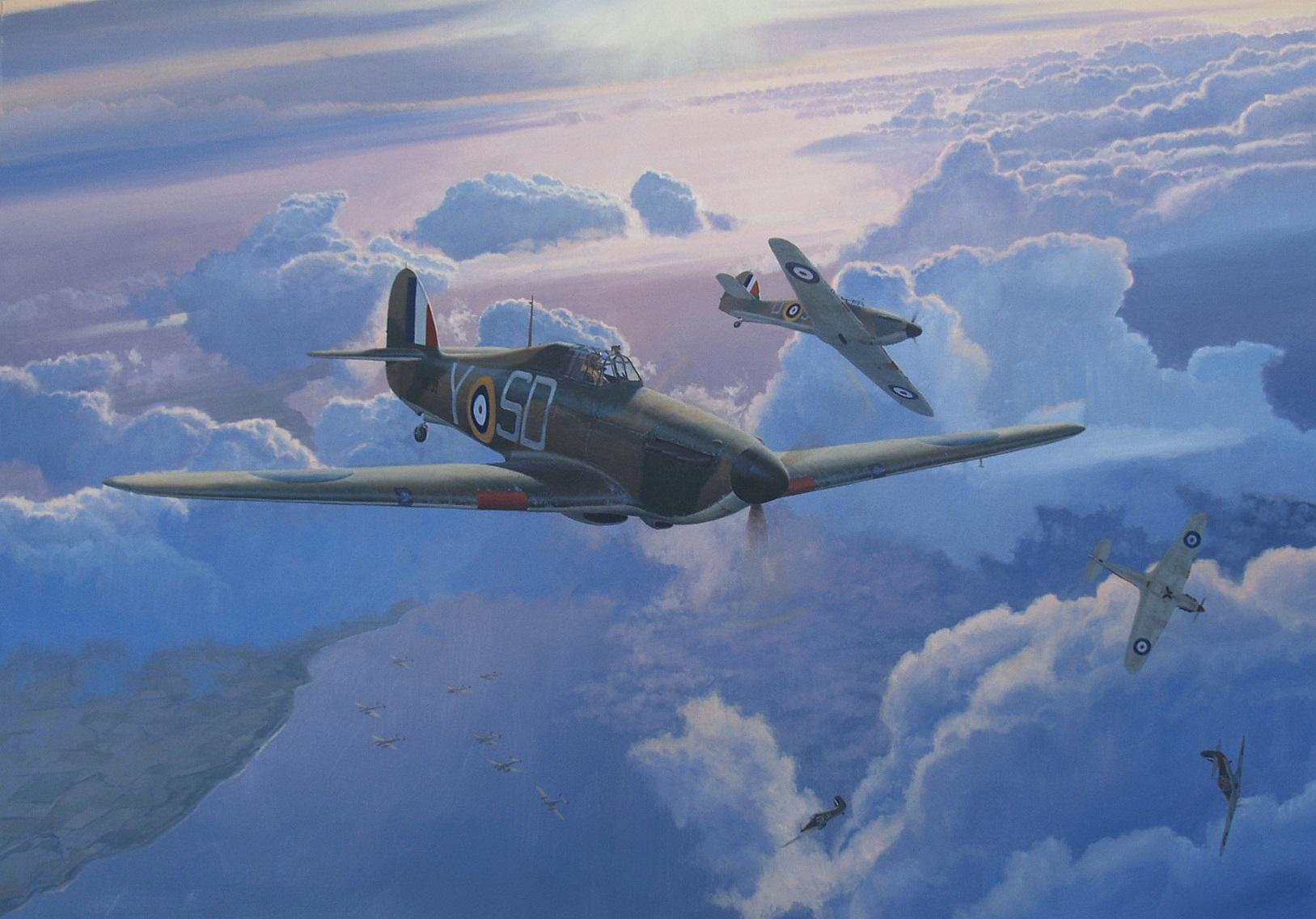Heyen Steven. Истребители Hawker Hurricane.