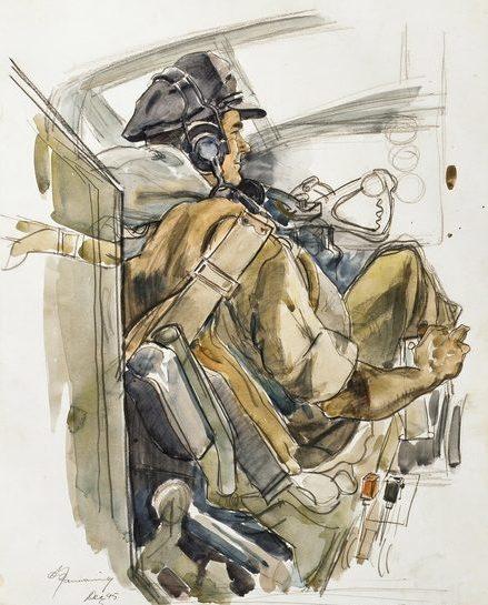 Mainwaring Geoffrey. Командир эскадрильи Harvey Charlesworth.