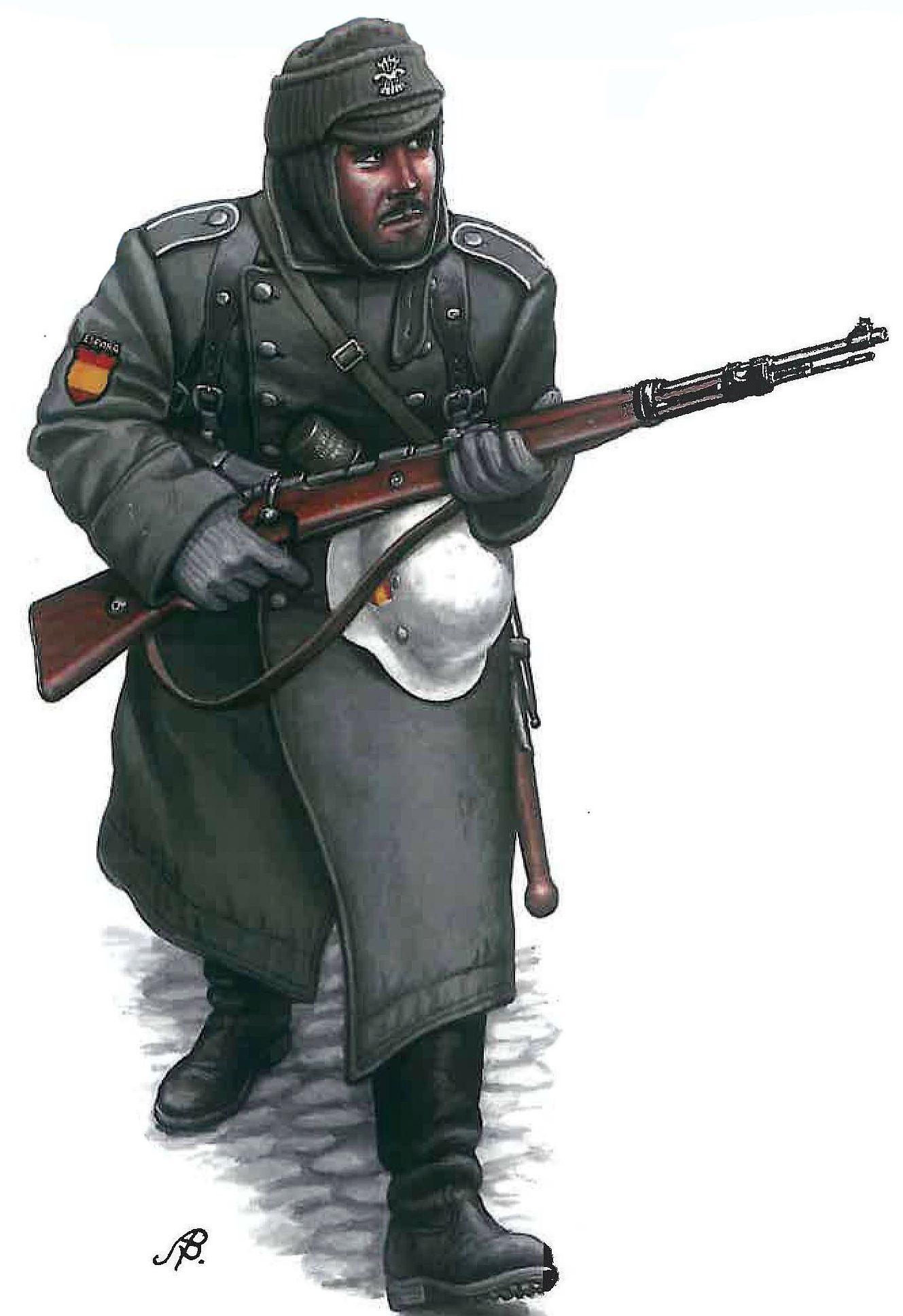 Bulczynki Arnold. Немецкие пехотинцы.