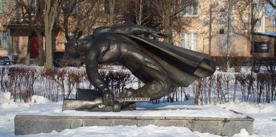 г. Белая Церковь. Памятник землякам, погибшим в годы войны.