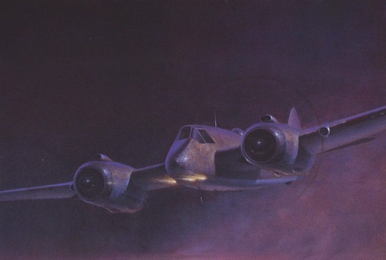 Thompson Charles. Истребитель-бомбардировщик Bristol Blenheim.