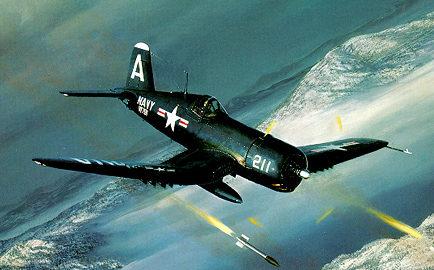 Phillips William. Истребитель «Corsair».