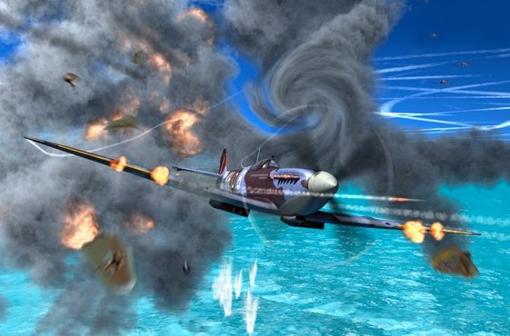 Krenzler Len. Истребитель Spitfire IX.