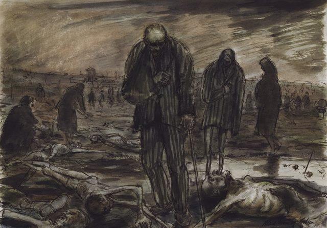 Moore Alan. Слепой в лагере Belsen.