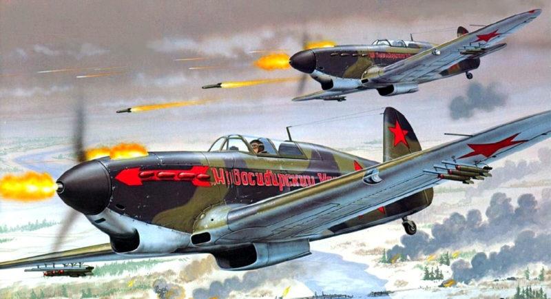Greer Don. Истребитель Як-7А.