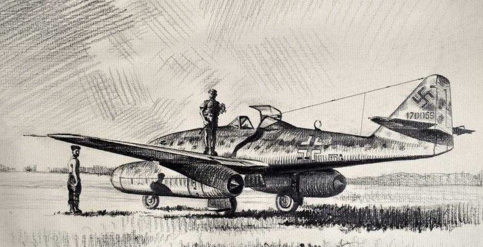 Dubowik Piotr. Истребитель Ме-262.