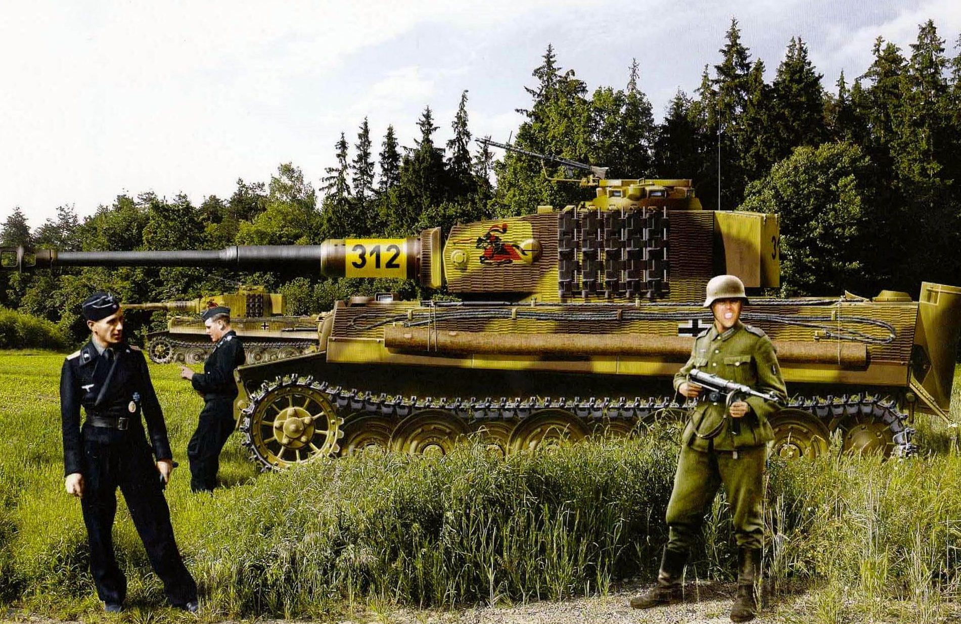 Kolacha Zbigniew. Танк Tiger I.