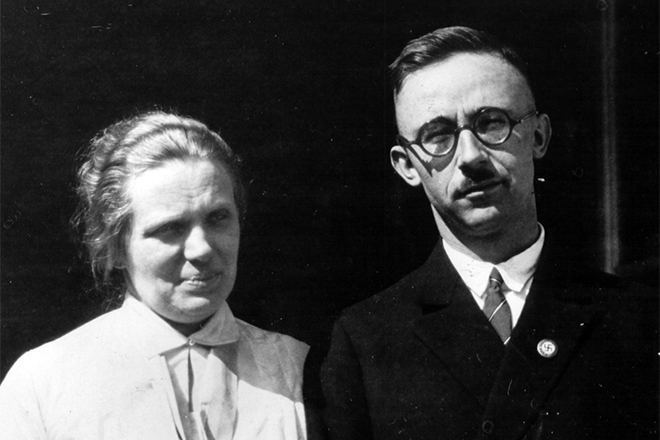 Маргарет и Генрих Гиммлер.