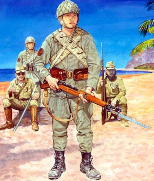 Szyzsko Marek. Японская морская пехота.