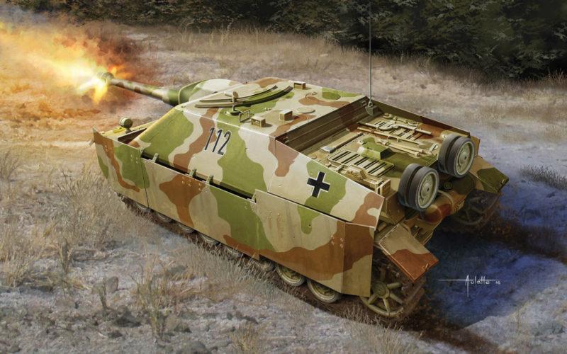 Auletta Vincenzo. САУ Sd.Kfz.162 Jagdpanzer.