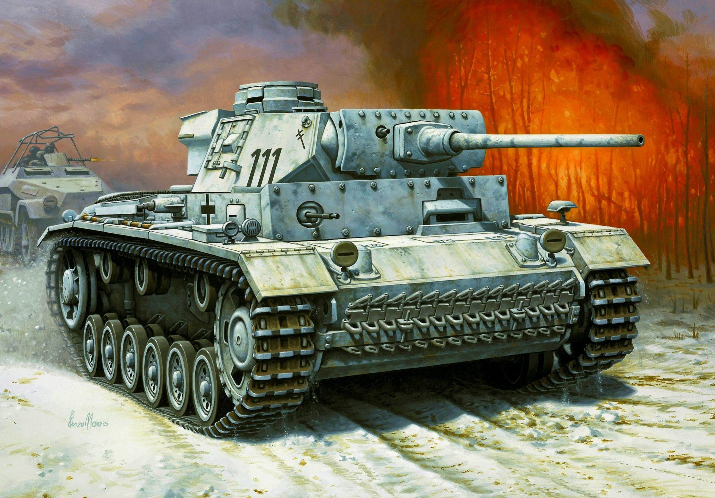 Maio Enzo. Танк Panzer III Ausf. L.