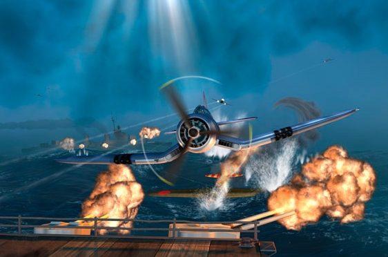 Krenzler Len. Отражение атаки на авианосец.