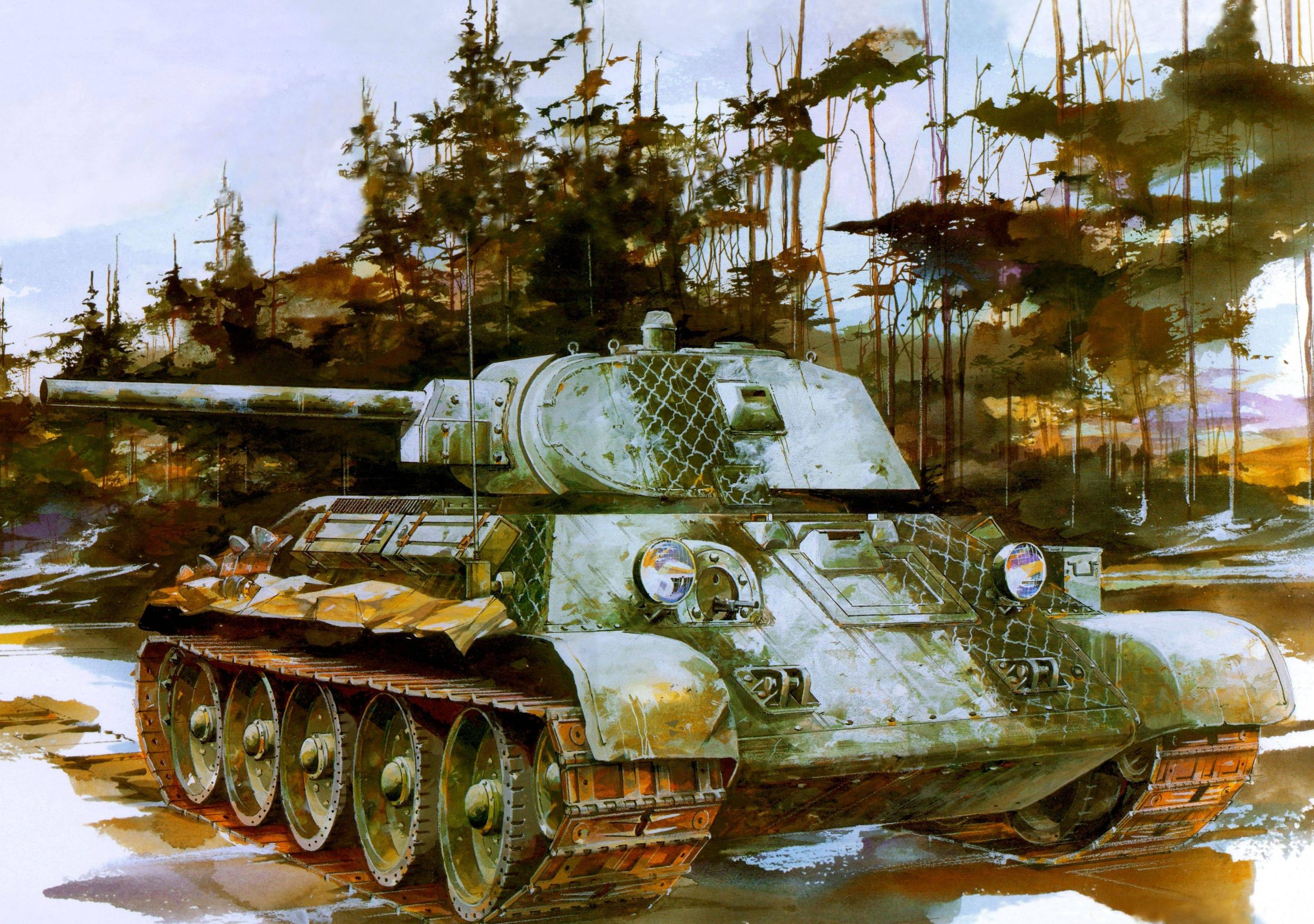 Jameson. Танк Т-34/76.
