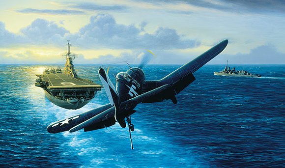 Stokes Stan. Палубный истребитель «Corsair».