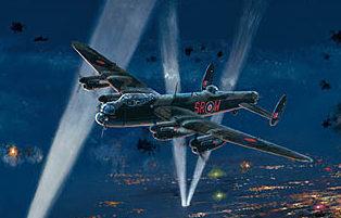 West Philip. Бомбардировщики Lancasters.