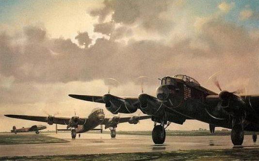 Woodcock Keith. Бомбардировщик Avro Lancaster.