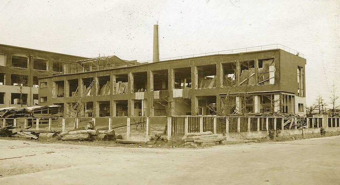 Здание больницы. Август 1945 г.