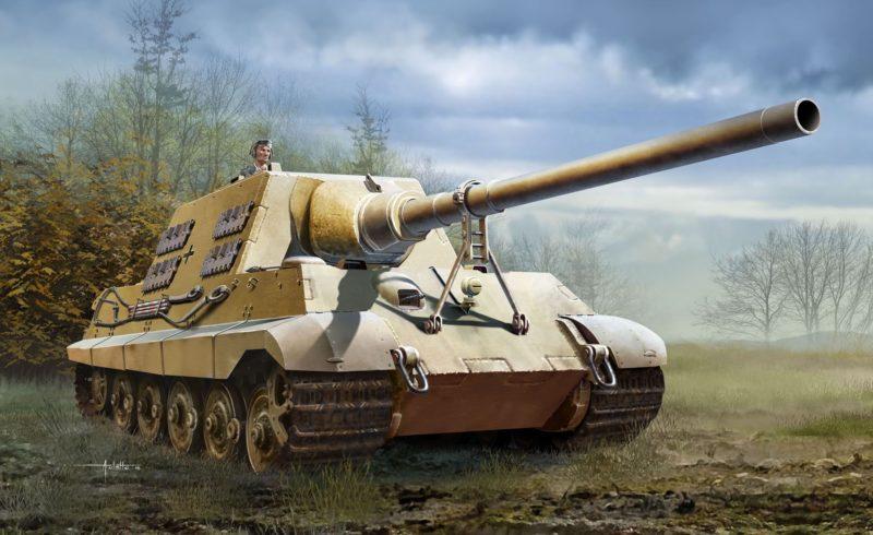 Auletta Vincenzo. САУ Sd.Kfz.186 Jagdtiger.