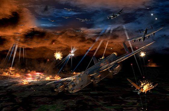 Krenzler Len. Бомбардировщики Avro Lancaster над Берлином.