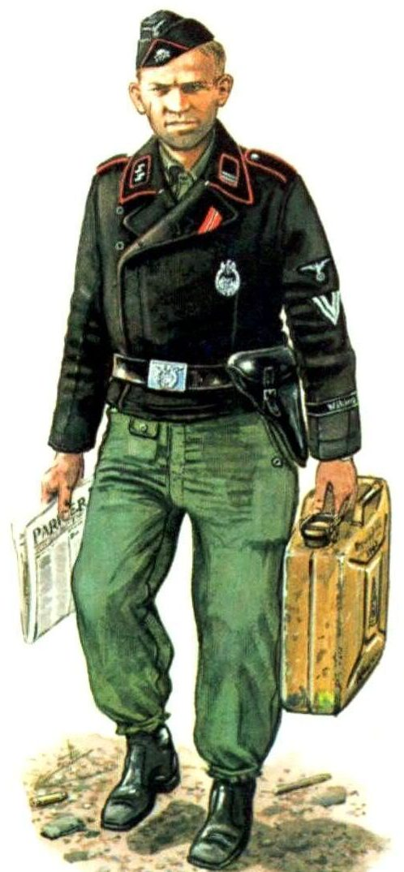 Bulczynki Arnold. Солдат Luftwaffe.
