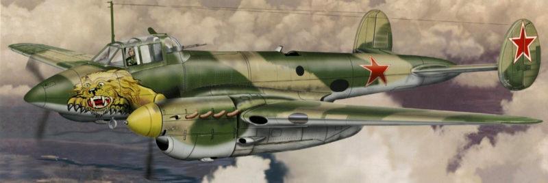 Greer Don. Штурмовики Пе-2.