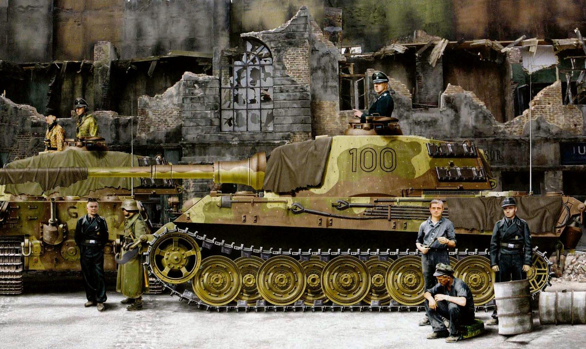 Kolacha Zbigniew. Танк Tiger II.