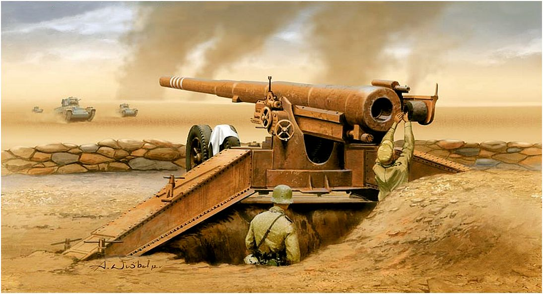 Wróbel Arkadiusz. Полевое 155-mm орудие K-419(f).