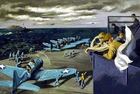 Beall-Smith Lawrence. Истребители на палубе.