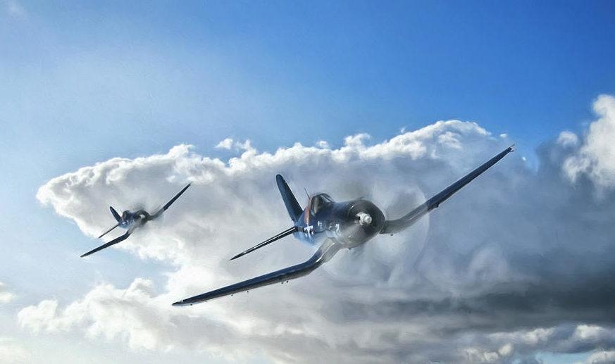 Chilelli Peter. Истребители F-4U Corsair.