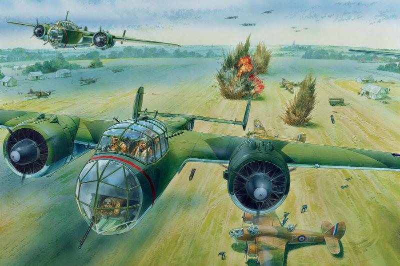 Dennis Peter. Атака на аэродром.