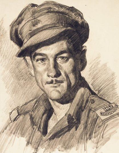 Mainwaring Geoffrey. Военный корреспондент Jim Fitzpatrick.