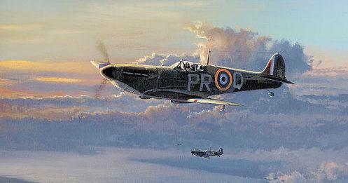 West Philip. Прикрытие Spitfire.