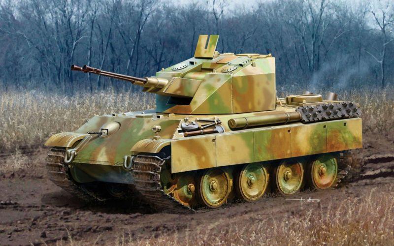 Auletta Vincenzo. ЗСУ Flakpanzer V Coelian.