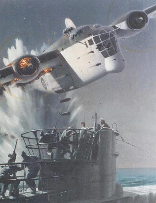 Thompson Charles. Атака на подлодку.