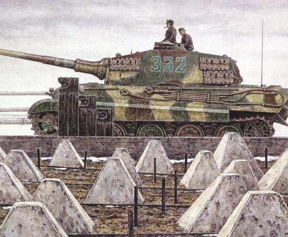 Harmon Jody. Танк Tiger II.