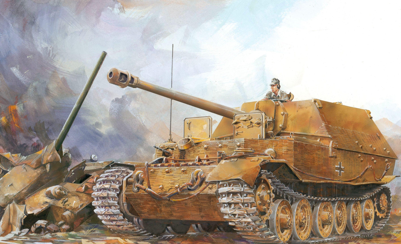 Jameson. САУ Sd.Kfz. 184 Elefant.
