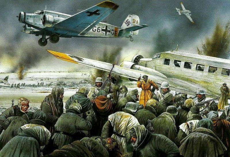 Dennis Peter. Эвакуация из Сталинграда.