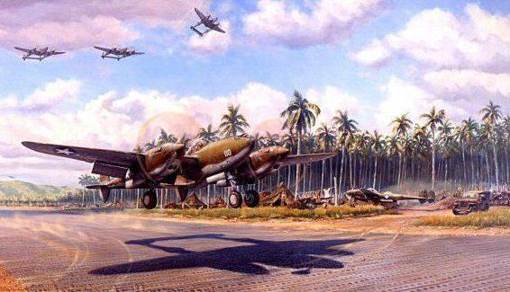Laurier Jim. Аэродром в джунглях.