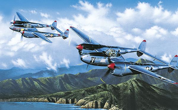 Stokes Stan. Истребители Р-38.