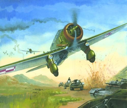 Wrobel Jaroslaw. Атака с воздуха.