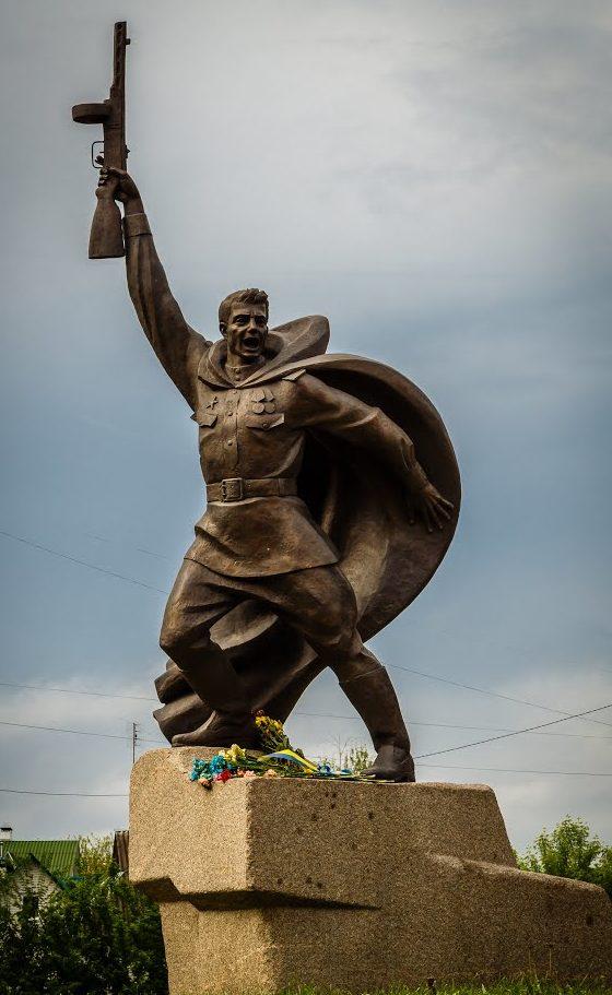 г. Обухов. Памятник Неизвестному солдату на мемориале Славы.