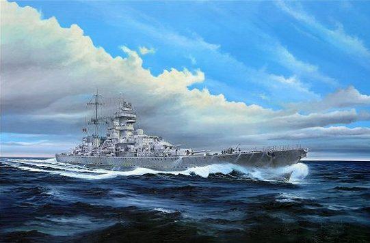 Wilson Randall. Тяжелый крейсер «Prinz Eugen».