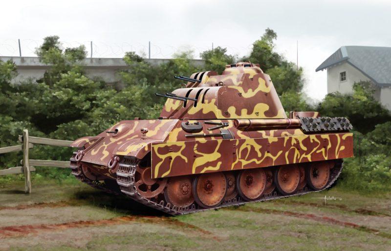 Auletta Vincenzo. ЗСУ Flakpanzer 341.