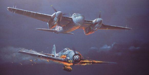 Bailey Robert. Сопровождение бомбардировщиков.