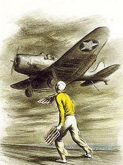 Beall-Smith Lawrence. «Дирижер» посадки на авианосец.