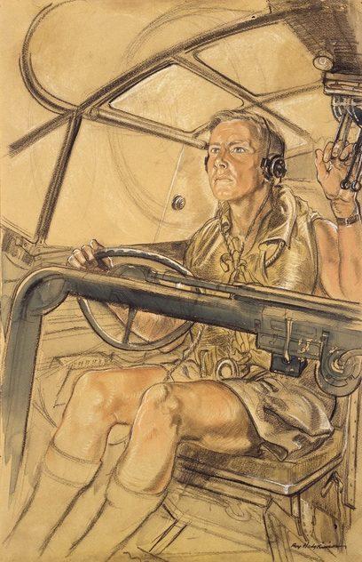 Hodgkinson Roy. Пилот «Catalina».