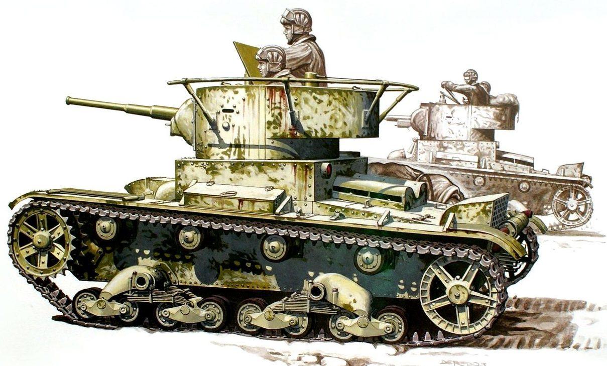 Deredos Andrzej. Танк Т-26.