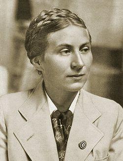 Гертруда Шольц-Клинк – руководитель NSF.